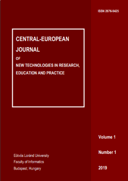 CEJNTREP Volume 1, Number 1 Cover